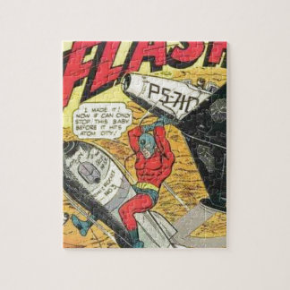 Vintage Golden Age Comic Book Jigsaw Puzzle