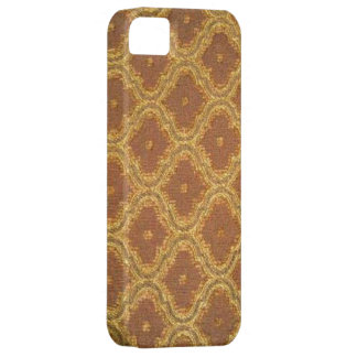 Vintage Golden Brown Damask Case-Mate iPhone 5 Case For The iPhone 5