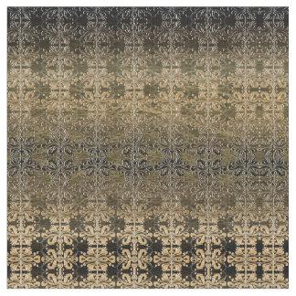 Vintage Golden Damask Fabric