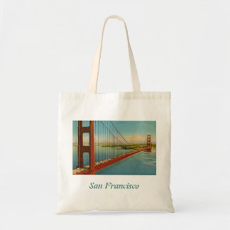Vintage Golden Gate Bridge Tote Bag