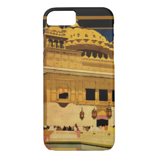 Vintage Golden Temple, India iphone 7 case