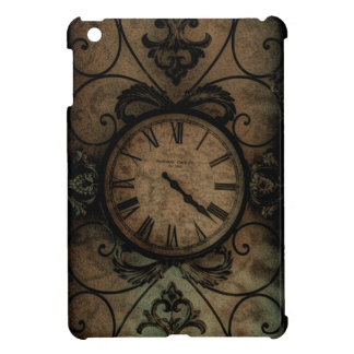 Vintage Gothic Antique Wall Clock Steampunk iPad Mini Cover