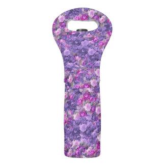 Vintage Gothic Rose Radiant Orchid Lavender Purple Wine Bag