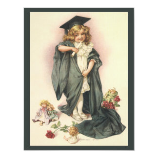 Vintage Graduation, Congratulations Class of 2012 Personalized Invites