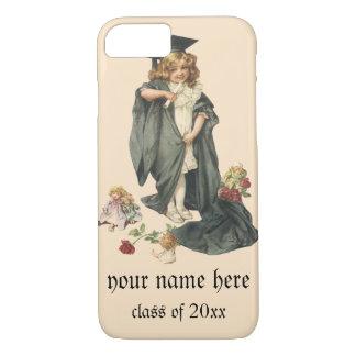 Vintage Graduation, Congratulations Graduate iPhone 7 Case