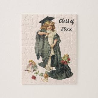 Vintage Graduation, Congratulations Graduates! Jigsaw Puzzle