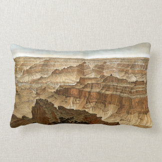 Vintage Grand Canyon National Park Arizona Lumbar Pillow