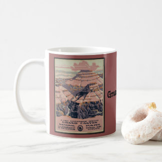 Vintage Grand Canyon Travel Coffee Mug