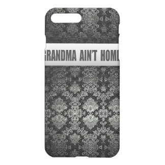 vintage grandma funny gold textured iphone x case