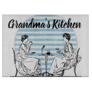 Vintage Grandma's Kitchen Cutting Board