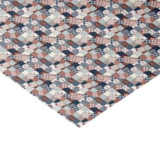 Vintage Grandma's Quilt Pattern Tissue Paper