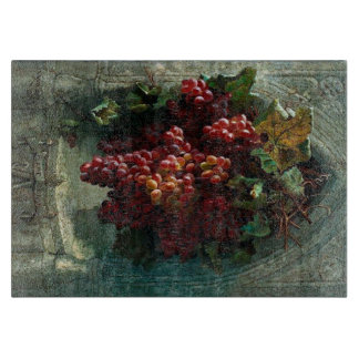 Vintage Grape Image Cutting Board
