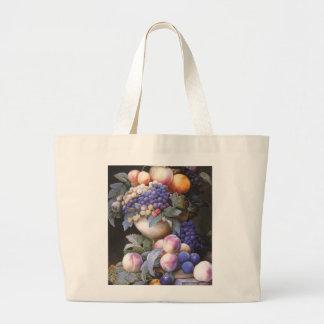 Vintage Grapes in a Vase Bag