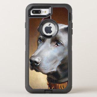 Vintage Great Dane Dog OtterBox Defender iPhone 8 Plus/7 Plus Case