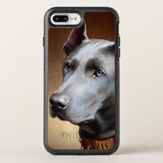 Vintage Great Dane Dog OtterBox Symmetry iPhone 8 Plus/7 Plus Case