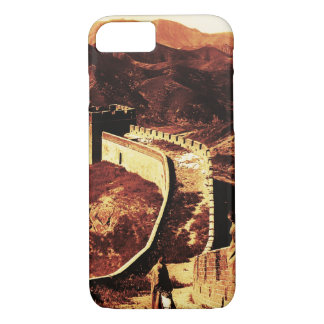 Vintage Great wall of China iphone 7 case