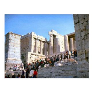 Vintage Greece, Athens, Acropolis, Postcard