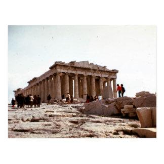 Vintage Greece, Athens, Acropolis Postcard