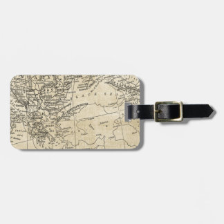Vintage Greece & Turkey Map Black Sea Region Luggage Tag