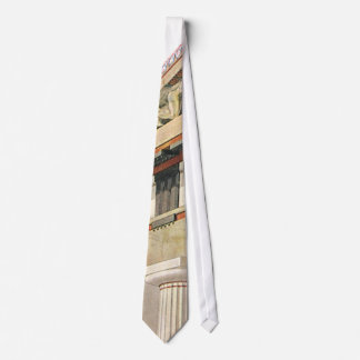 Vintage Greek Architecture, Temple of Athena Tie