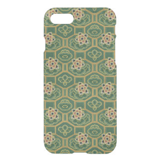 Vintage Green and Pink Japanese Floral iPhone 7 Case