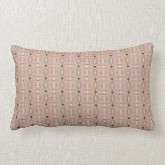 Vintage Green-Eyed Beauty Lumbar Pillow