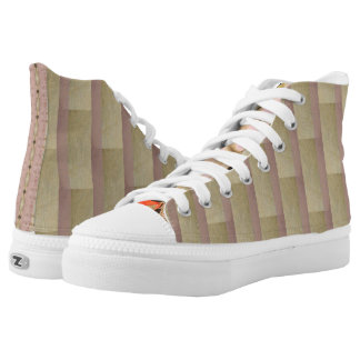 Vintage Green-Eyed Beauty Revisited High Tops