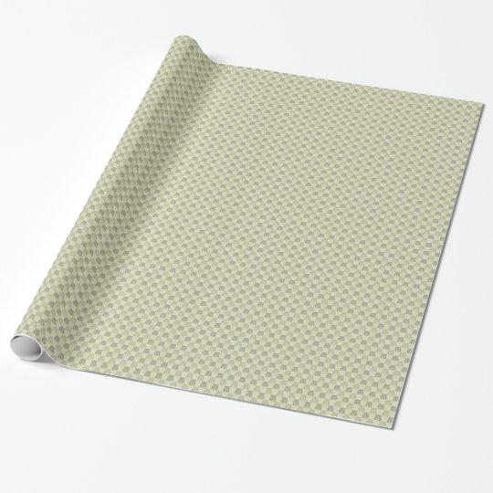 Vintage Grey Beige Embossed Pattern