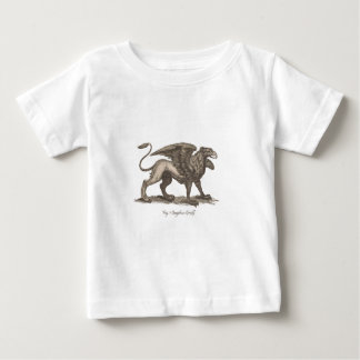 Vintage griffin (gryphus greiff) illustration. baby T-Shirt
