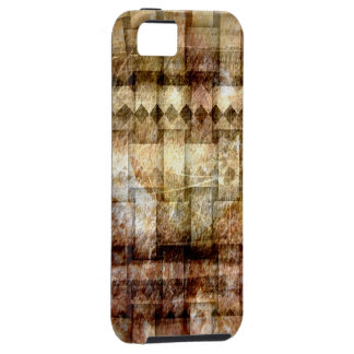 Vintage grunge art graphic design 2 iPhone 5 cover