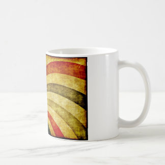 Vintage Grunge Background as Carnival Circus Coffee Mug
