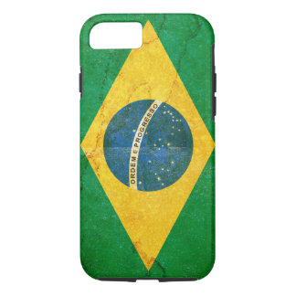 Vintage Grunge Brazil Flag iPhone 8/7 Case