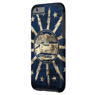 Vintage Grunge Buffalo Flag New York Tough iPhone 6 Case