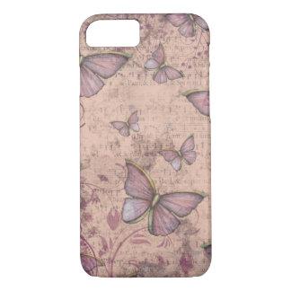 Vintage Grunge Butterflies iPhone 7 case