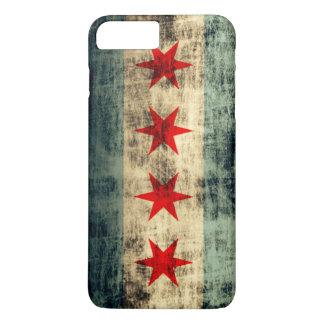 Vintage Grunge Chicago Flag iPhone 7 Plus Case