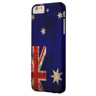 Vintage Grunge Flag of Australia Barely There iPhone 6 Plus Case