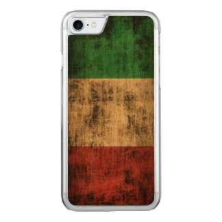 Vintage Grunge Flag of Italy Carved iPhone 7 Case