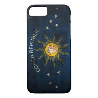 Vintage Grunge Flag of Key West Florida iPhone 7 Case