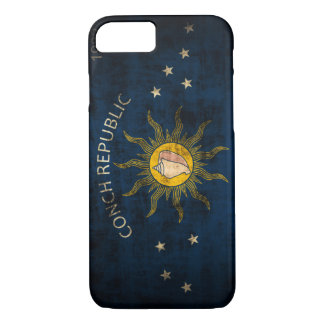 Vintage Grunge Flag of Key West Florida iPhone 8/7 Case