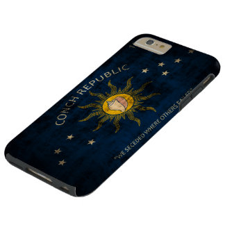 Vintage Grunge Flag of Key West Florida Tough iPhone 6 Plus Case