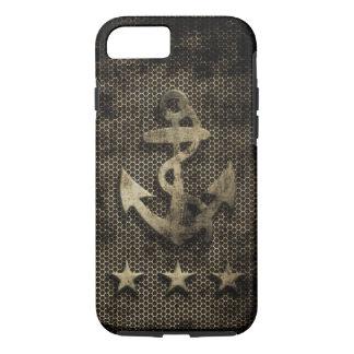 Vintage Grunge Nautical Anchor iPhone 7 Case