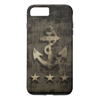 Vintage Grunge Nautical Anchor iPhone 7 Plus Case