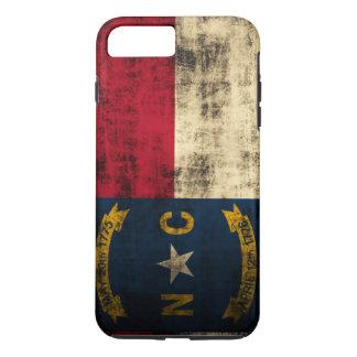 Vintage Grunge North Carolina Flag iPhone 7 Plus Case