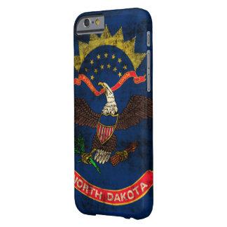 Vintage Grunge North Dakota Flag Barely There iPhone 6 Case