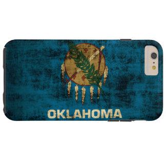 Vintage Grunge Oklahoma Flag Tough iPhone 6 Plus Case