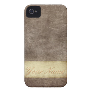 Vintage Grunge Personalized iPhone 4 Case-Mate Case