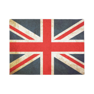 Vintage Grunge Union Jack British Flag Door Mat