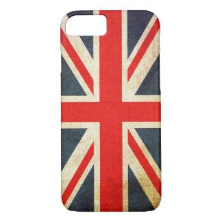 Vintage Grunge Union Jack UK FLAG iPhone 8/7 Case