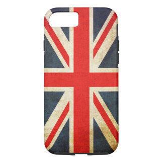 Vintage Grunge Union Jack UK FLAG iPhone 8/7 Case