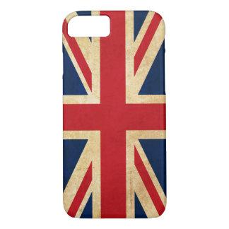 Vintage Grunge United Kingdom Flag Union Jack iPhone 8/7 Case